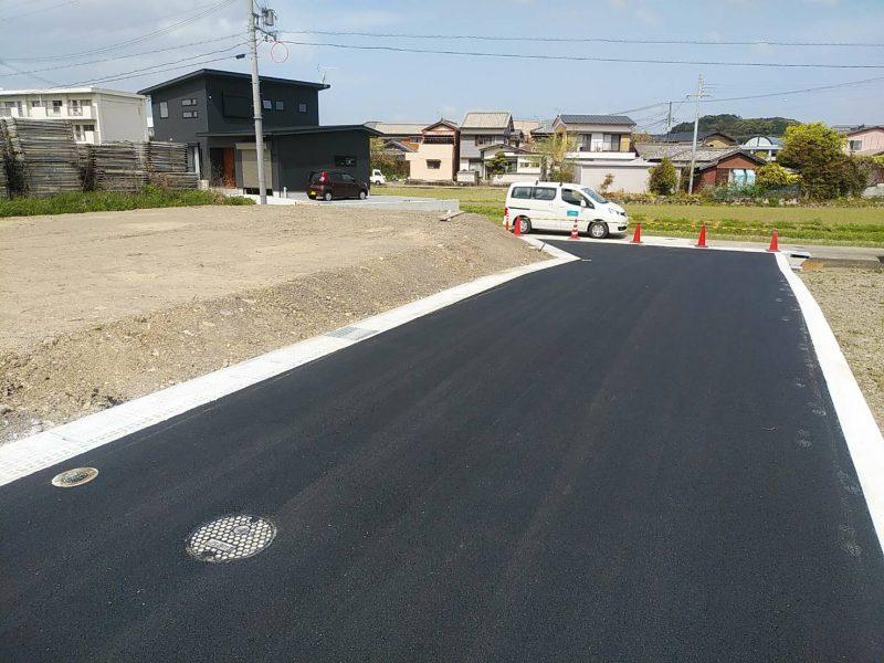 分譲地IKUMA(上富田町 生馬)造成工事進行中